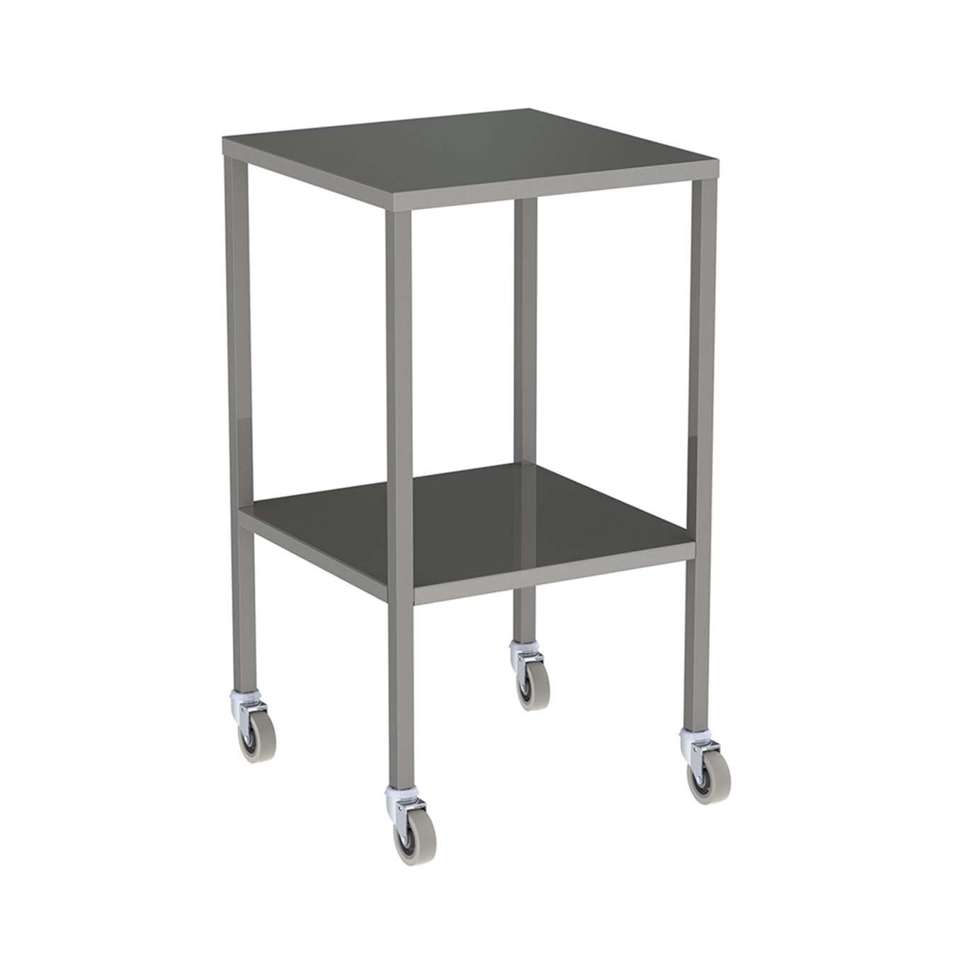 Instrument Trolley Stainless Steel No Rail